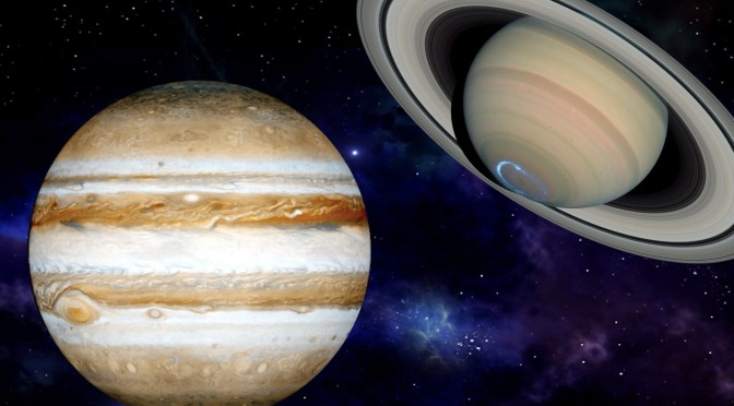 Jupiter and Saturn Conjunction in Aquarius December 21, 2020 ~ The Great Conjunction